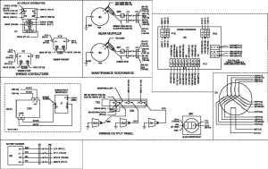 Figure FO2 Generator Set Wiring Diagram (Sheet 3 of 4)