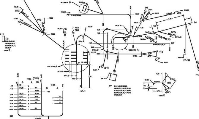 figure fo3 engine wiring harness diagram 60 hz sheet 1 of 2