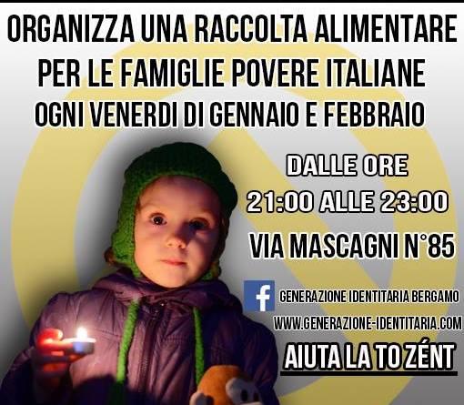 GID Bergamo Generazione Solidaria colletta alimentare