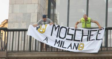 GID No Moschee Milano