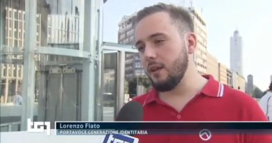 GID Defend Europe Rai 1 Tg1 Intervista