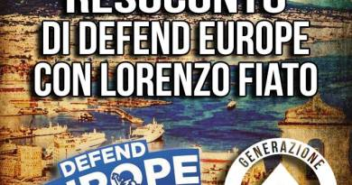 GID Napoli resoconto Defend Europe