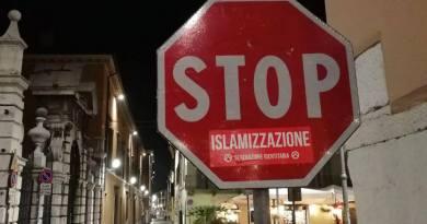 Stop islamizzazione! Riprendiamoci le città