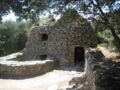 village des Bories, cabanes en pierre seche