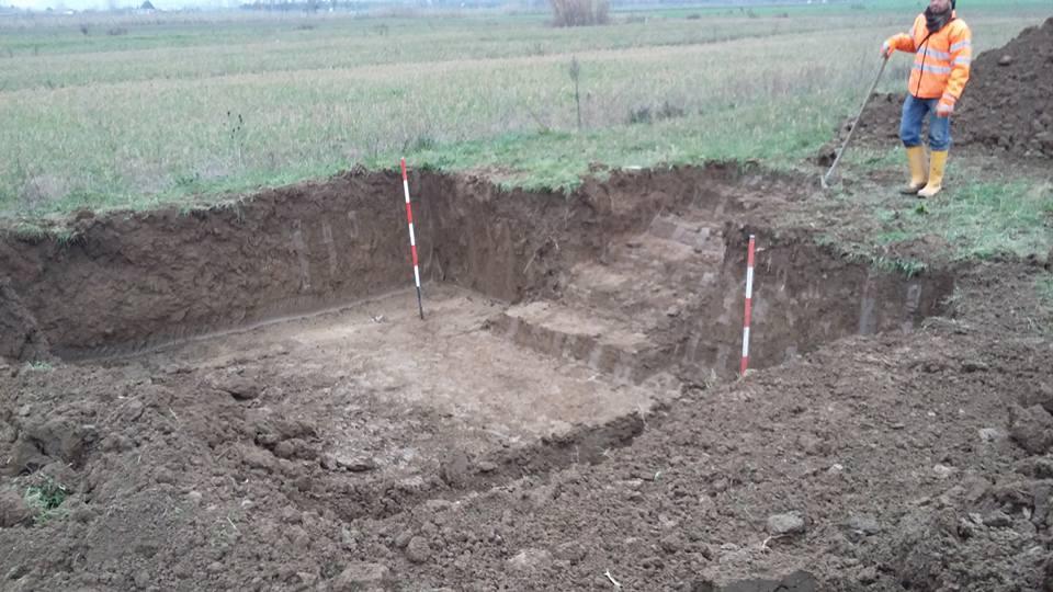 Scavi di archeologia preventiva in corso sul tracciato della futura pista aeropotuale di Peretola