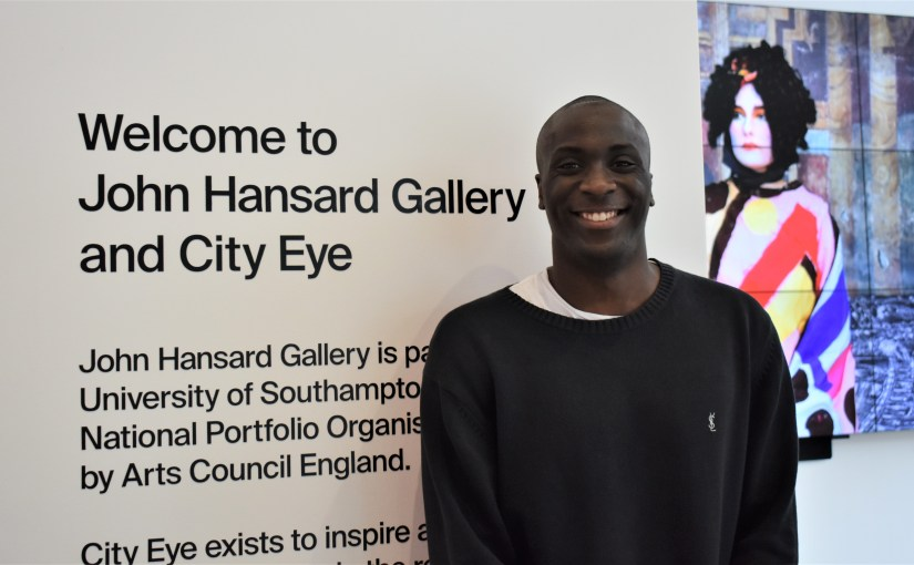 Introducing Christopher Amedu: John Hansard Gallery Marketing Intern