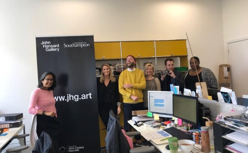 John Hansard Gallery: Making Waves in the Community