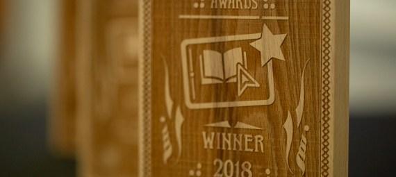 Blackboard & VLE Awards 2018 trophy