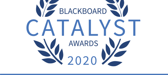 Blackboard Catalyst Awards 2020 winner.