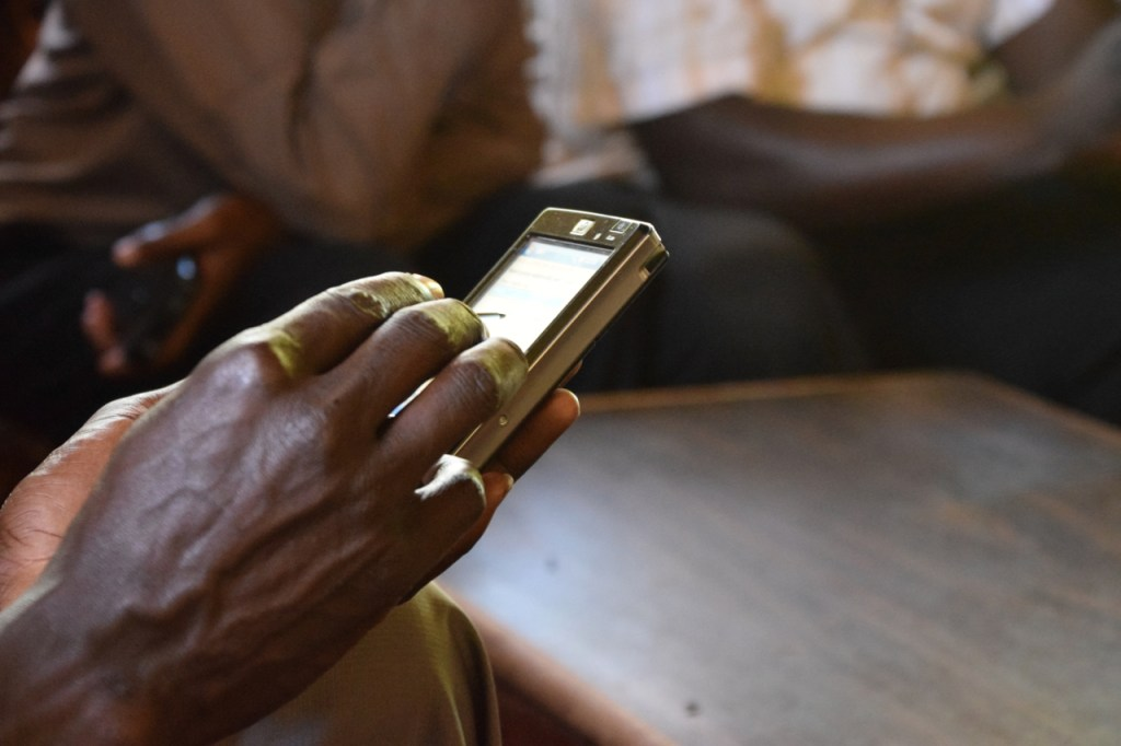 KEMRI use cell phones to collect data for the PBASS study