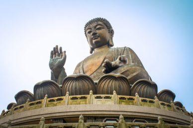 Statue of Buddha https://pixabay.com/de/hong-kong-lantau-island-buddha-2142273/