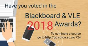VLE Awards 2018 graphic