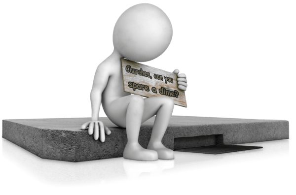 sitting_on_curb_holding_sign_12927