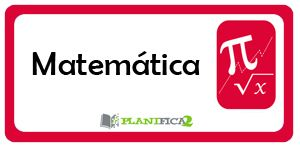 Matemática - PLANIFICA2