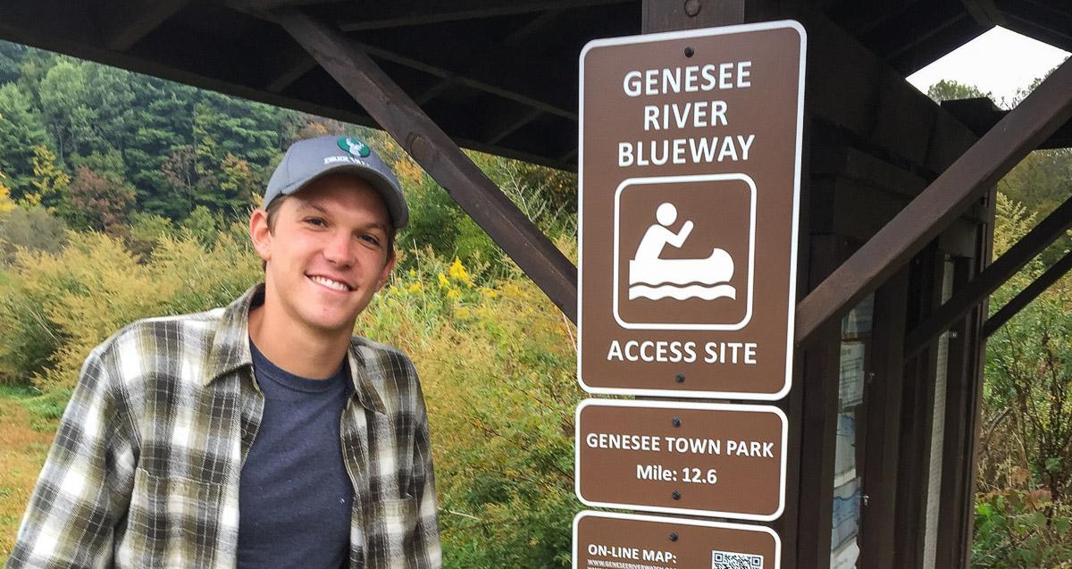 Genesee River Blueway Map
