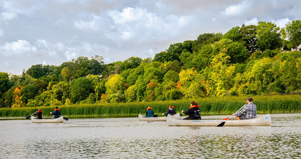 Roc the Riverway Weekend Paddle