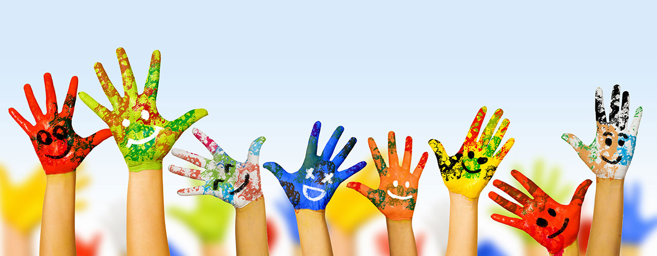Genesis ABA Therapy Colorful Hands