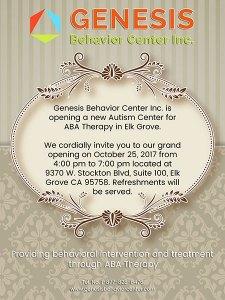 Genesis Behavior Center Elk Grove