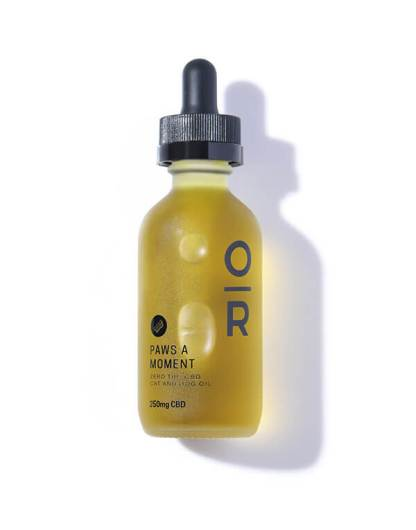 Paws A Moment CBD Dog Oil by Onyx & Rose cover