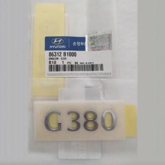 Genesis G80 Badge