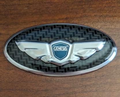 genesis steering wheel emblem