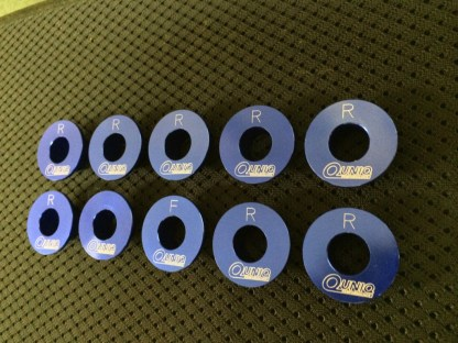 rigid collars for the first generation hyundai genesis sedan