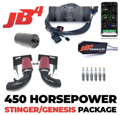 jb4 power pack for genesis by burger motorsports