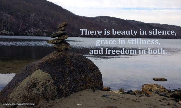 Beauty in silence