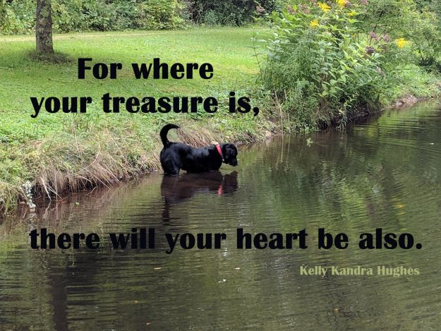 For Where Your Treasure Is, There Will Your Heart Be Also 29