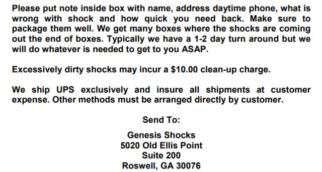Services GS 4
