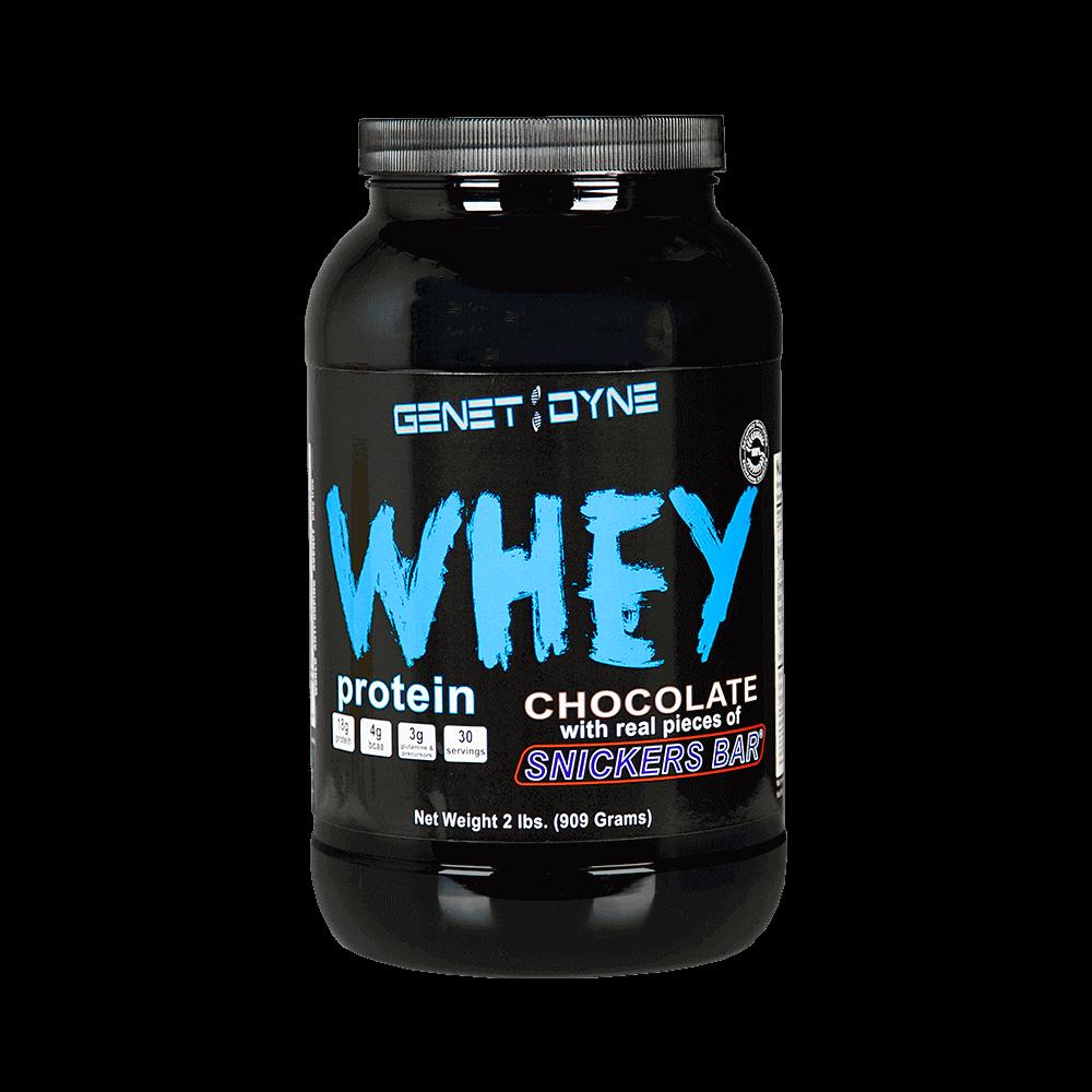 Whey Protein Powder: Genetidyne Whey Protein Supplement