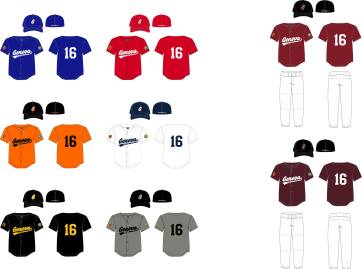 GBL 2015 Jersey Designs
