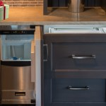 Holiday Kitchen Preparations Scotman Ice Maker Refrigerator Drawer Built In Cabinetry Bar Geneva Cabinet Company Llc