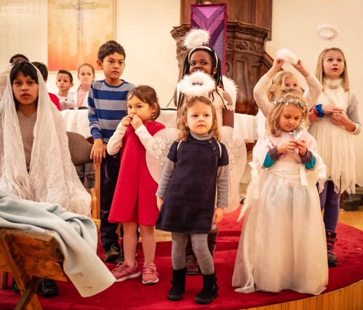 The story of the nativity, expressed by the young of our congregation in a setting which included CERN, Geneva and the search for the God particle. Great fun. Geneva Lutheran Church 16 December 2018.