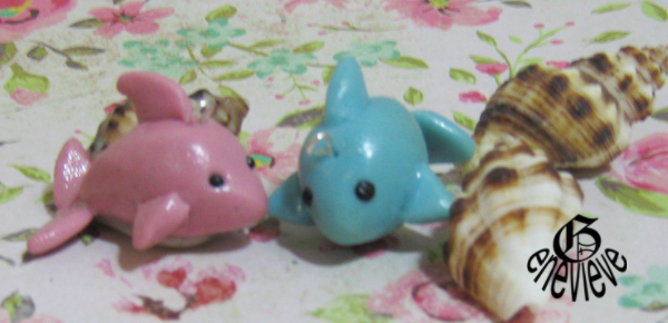Pink and Blue dolphins