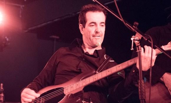 Jamie - bass guitar - Genexis - live music - Sunshine Coast