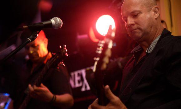 Nick, rhythm guitar, Genexis - Yandina Hotel