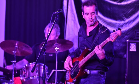 bass guitar drums - genexis - noosa surf club