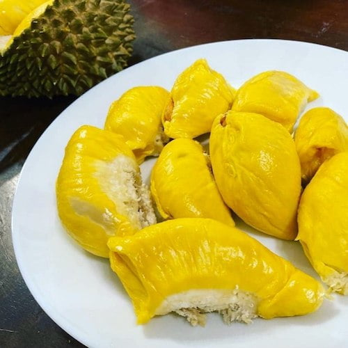 durian padu isi kuning