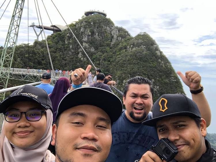 Promosi Cuti Langkawi naik cable car
