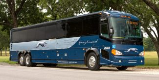 Greyhound Bus Photo