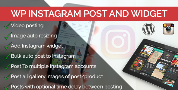 WP Instagram Post and Widget Pro