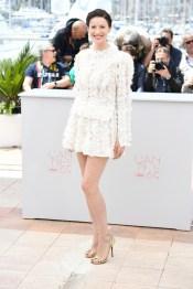 Caitriona Balfe en robe Louis Vuitton