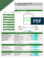 Fichier Excel sur Calcul des dalles en Béton Armé