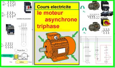 Cours electricite : le moteur asynchrone triphase