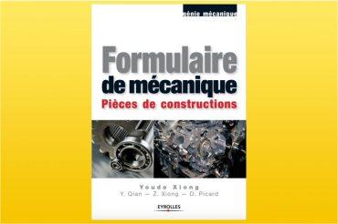 Formulaire de mécanique : Pièces de constructions en PDF