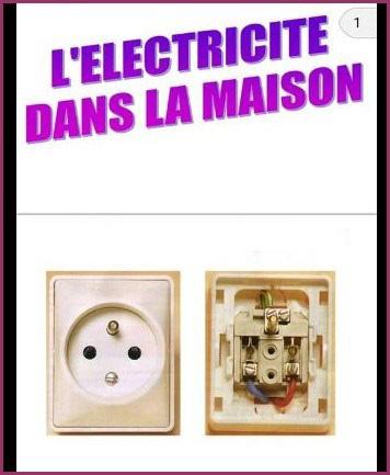 L'Electricité dans la maison en PDF