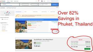 Huge savings on GenieTraveler.com for Phuket, Thailand