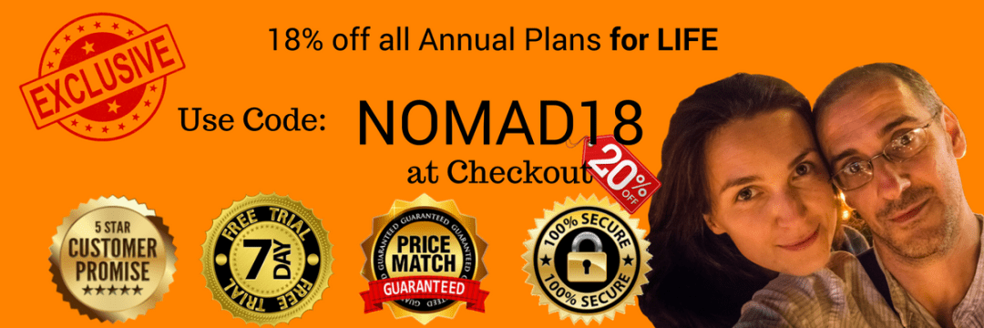 NOMAD18 coupon/discount code