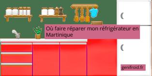 où faire réparer mon réfrigérateur en Martinique